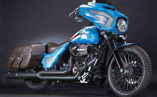 Harley customizadas por Marvel