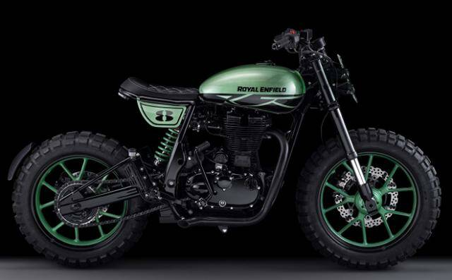Green Fly by Royal Enfield