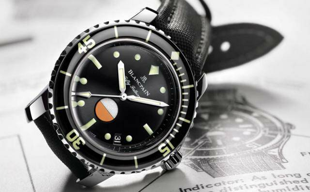 Blancpain tribute to Fifty Fathoms
