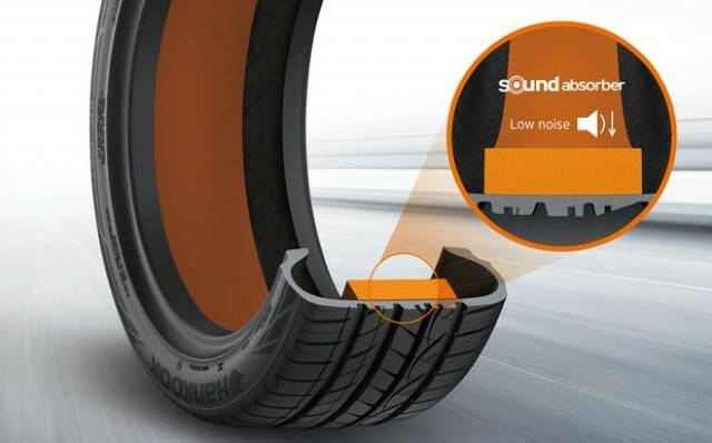 Hankook sound absorber